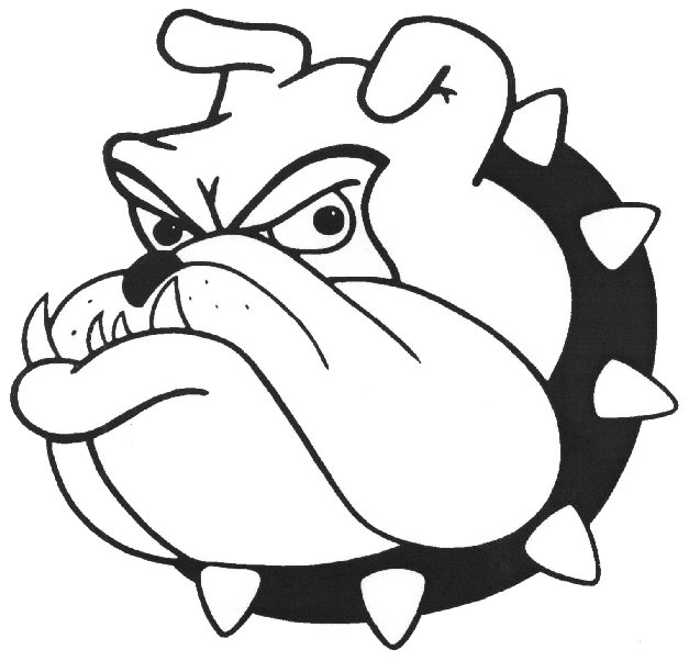bulldogs coloring pages - photo#9