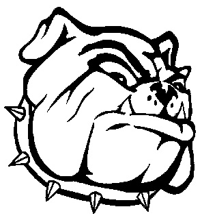 bulldog coloring pages free - nederland high school bulldog images